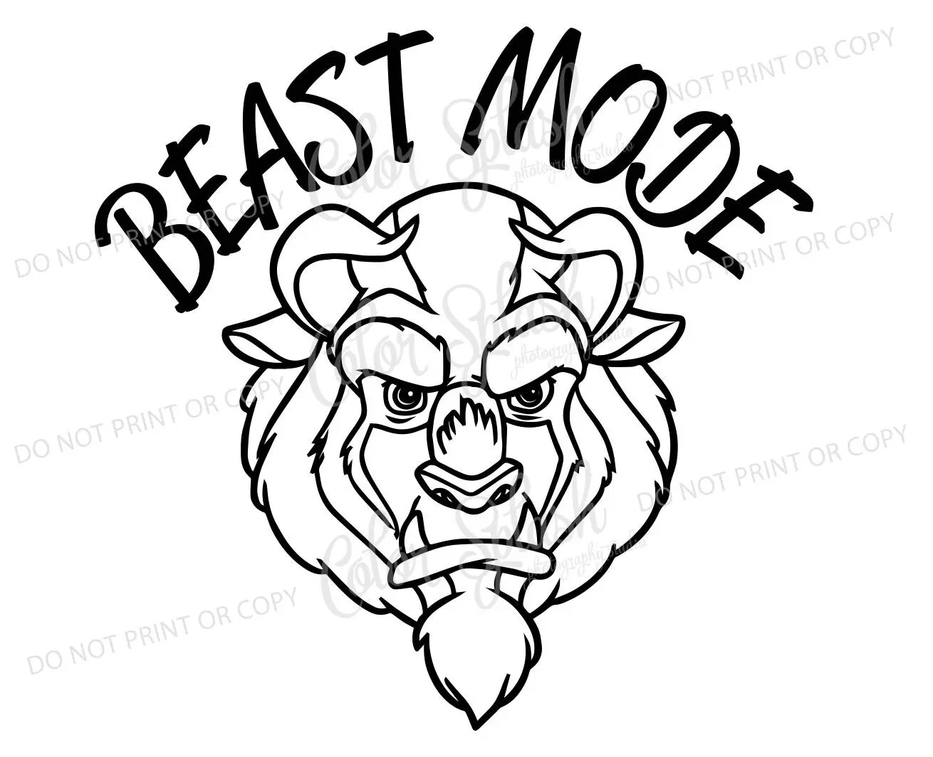 Beauty And The Beast Svg Eps Dxf Cut File Cricut
