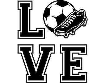 Download Soccer player svg | Etsy