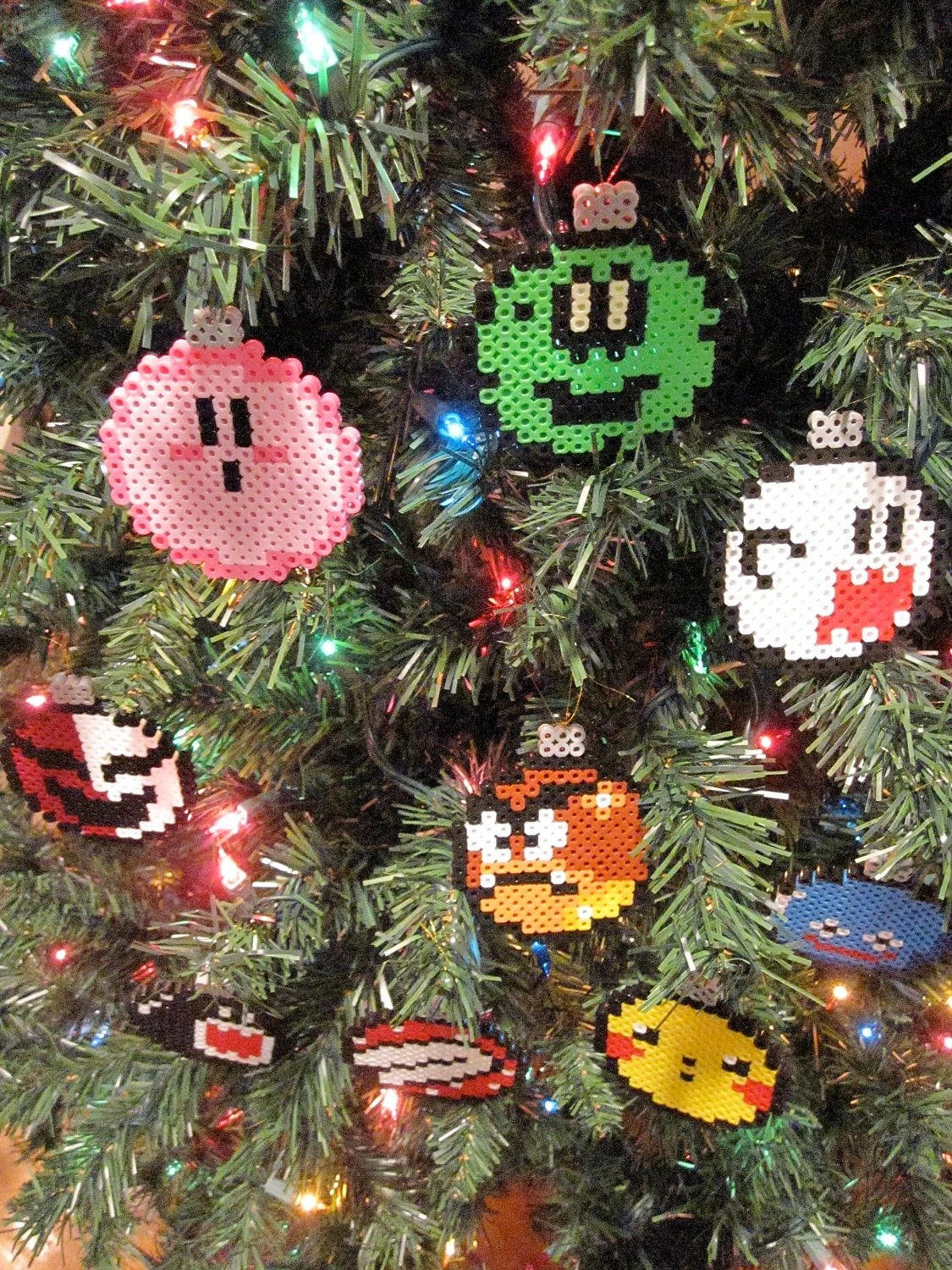 Nerdy Christmas Tree Decorations
