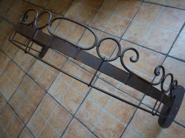 Ciel De Lit Bed Canopy Wrought Iron Large French. Shabby
