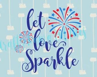 Download Let love sparkle   Etsy