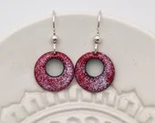 Red and white Earrings, R...