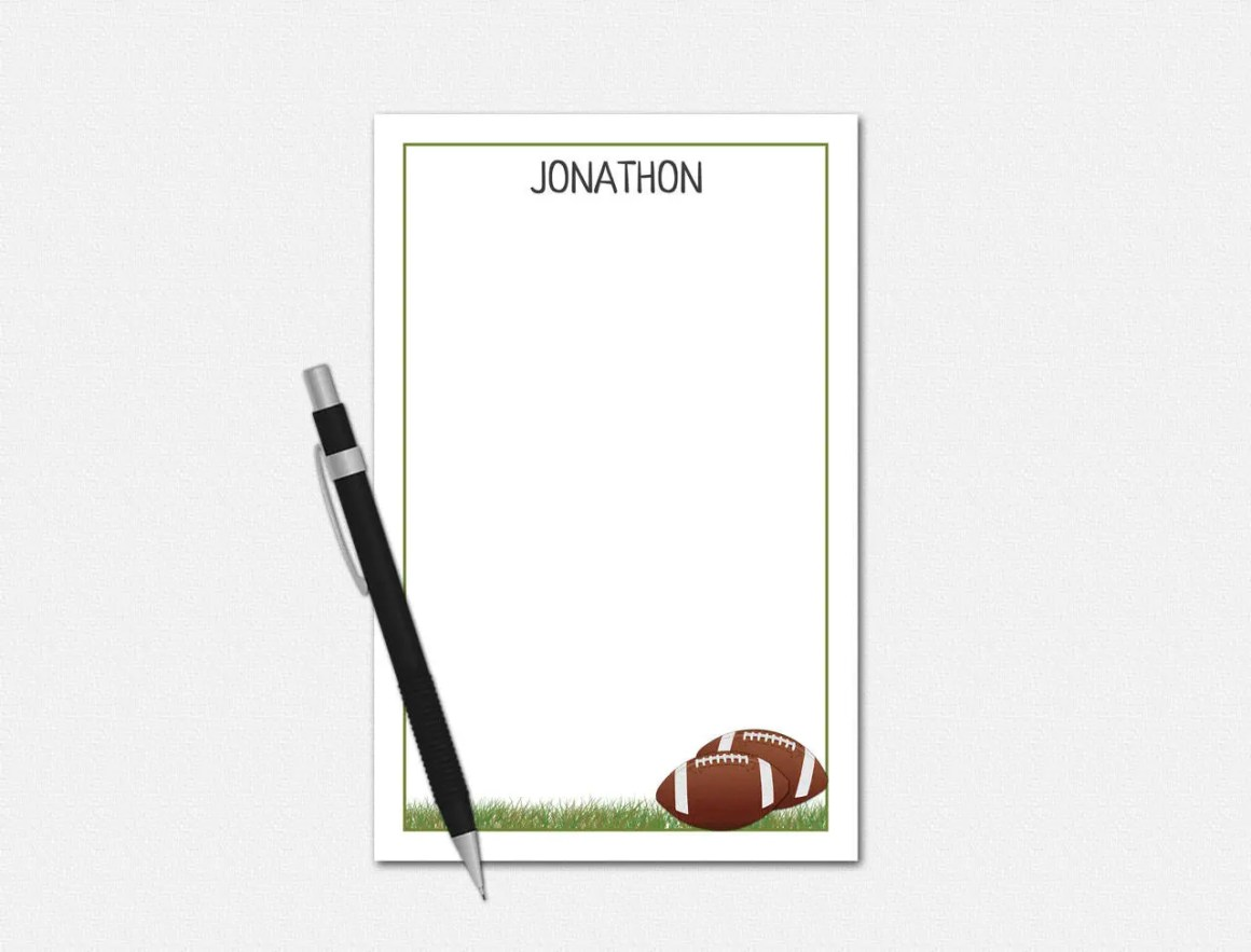 Personalized Notepads - F...