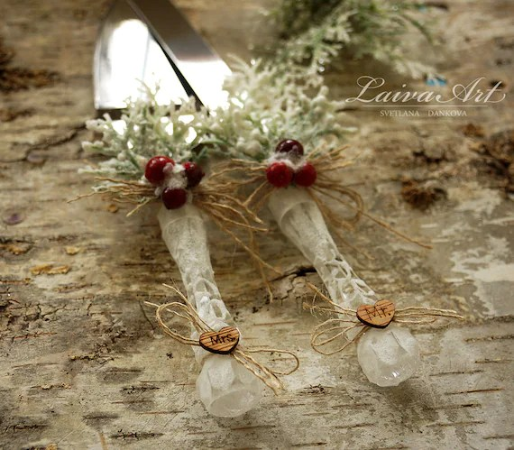 Winter Wedding Cake Server Set   Knife Cake Cutting Set Winter Wedding Cake Server Set   Knife Cake Cutting Set Wedding Cake Knife Set  Wedding Cake Servers Wedding Cake Cutter Cake Decoration