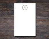 Greenery Monogram Notepad...