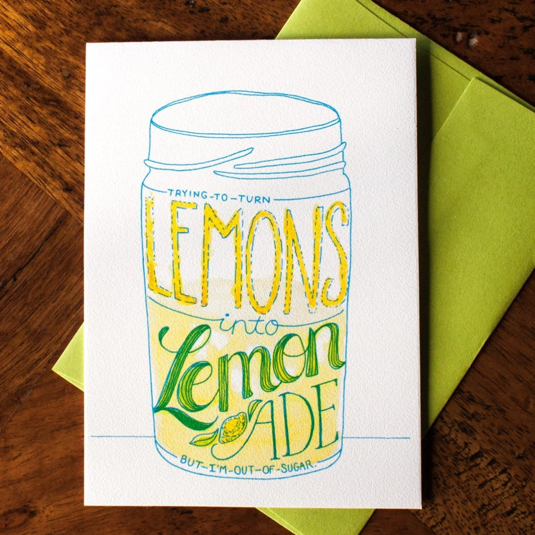 Lemons to Lemonade - Card...