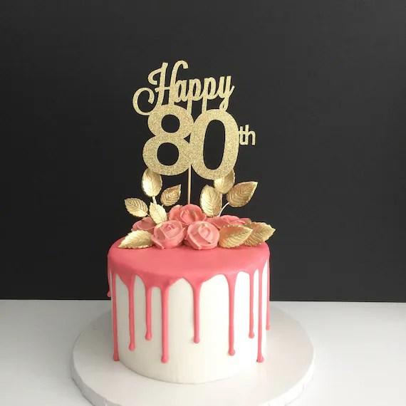 80th Birthday Color Theme