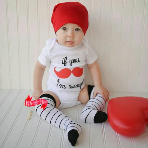 Boy Valentine Shirt Funny Baby Boy Clothes Toddler Boy
