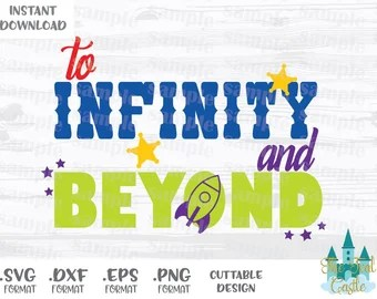 Download Infinity and beyond | Etsy