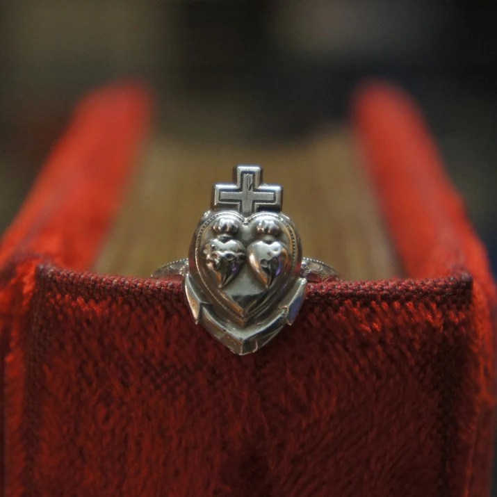 Solid Silver Antique Hope...
