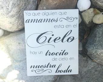 Download Spanish wedding sign   Etsy