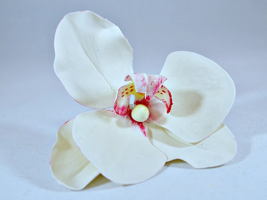 Items Similar To Orchid Cake Topper, Flower Cake