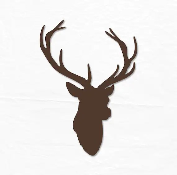 Deer Head SVG Deer SVG Southern SVG Hunting Svg Svg Files