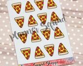Pizza Slice Hand Drawn Fo...