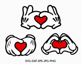 Download Mickey minnie love | Etsy