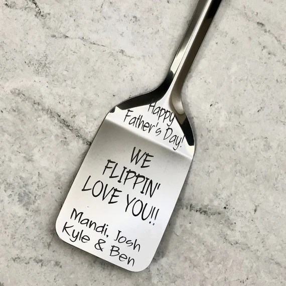 Download Personalized Spatula We Flippin Love You Father's Day