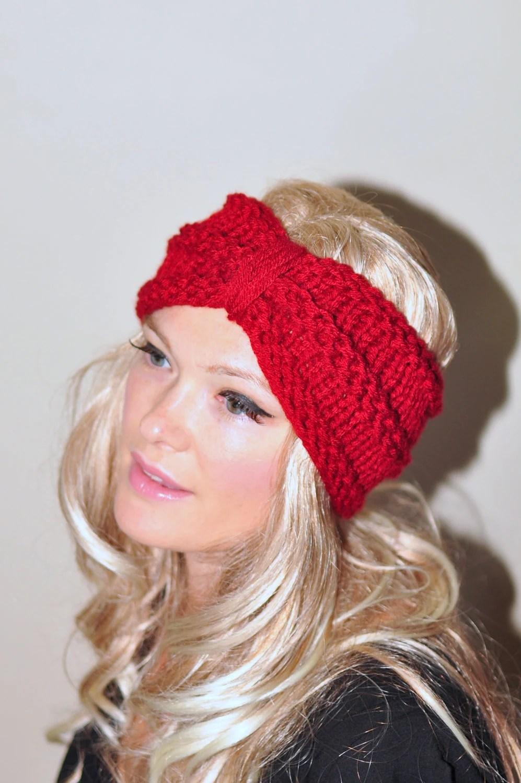 Items Similar To Turban Headband Crochet Head Wrap Knit