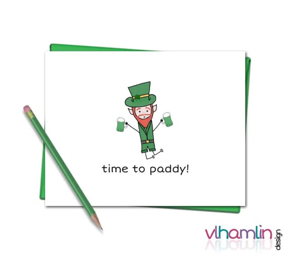 Time to Paddy - St. Patricks Day Cards