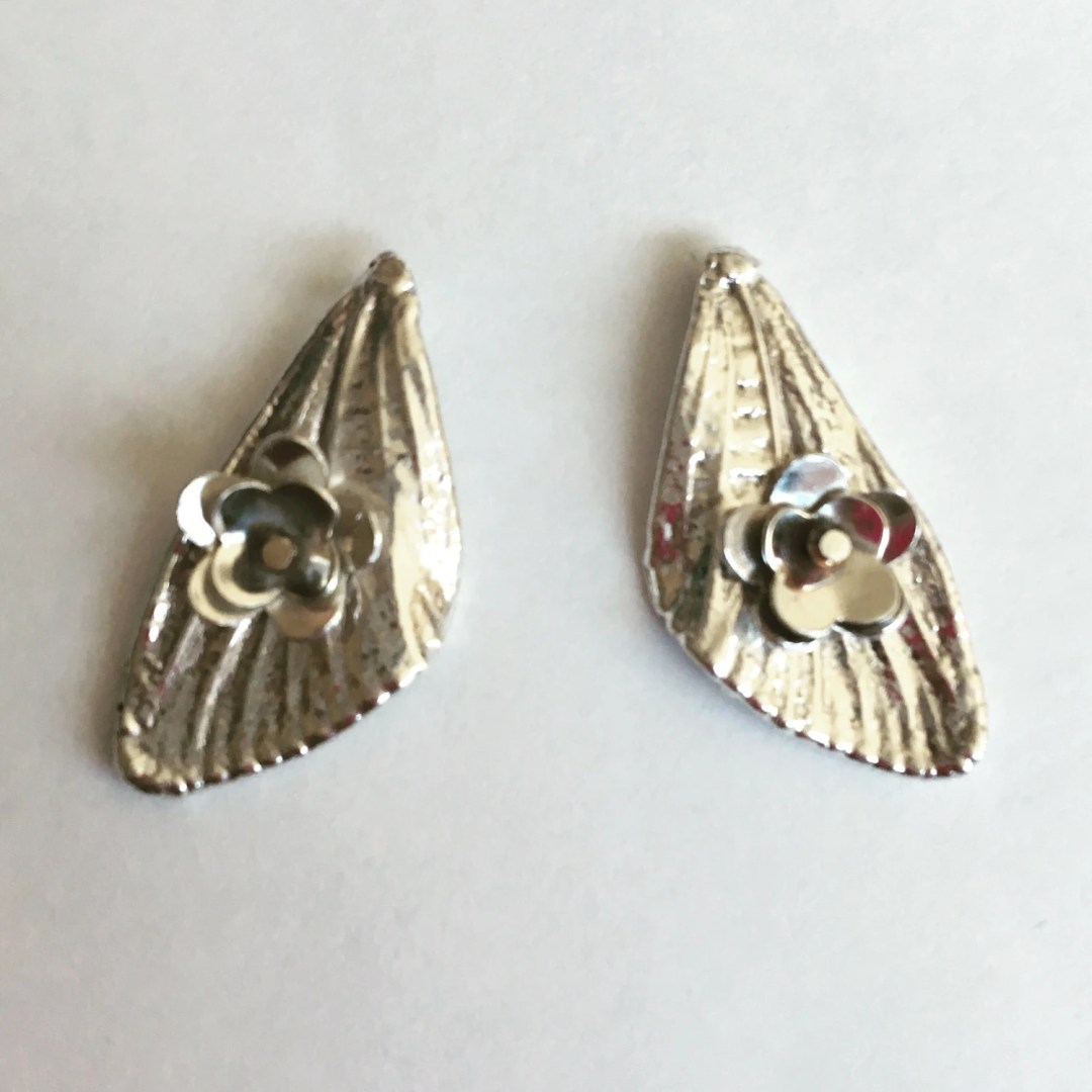 Small Silver Cicada Wings...
