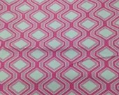 3.67 Yards Pink Hexagon H...