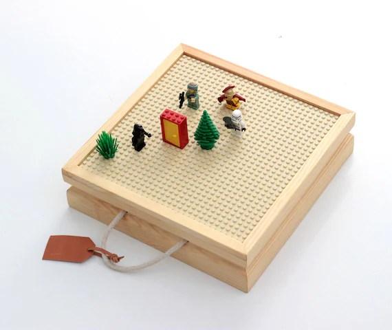 Lego Storage Travel Wood Box