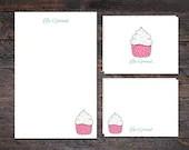 Cupcake Stationery Set - ...