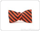 Black and Orange Striped ...