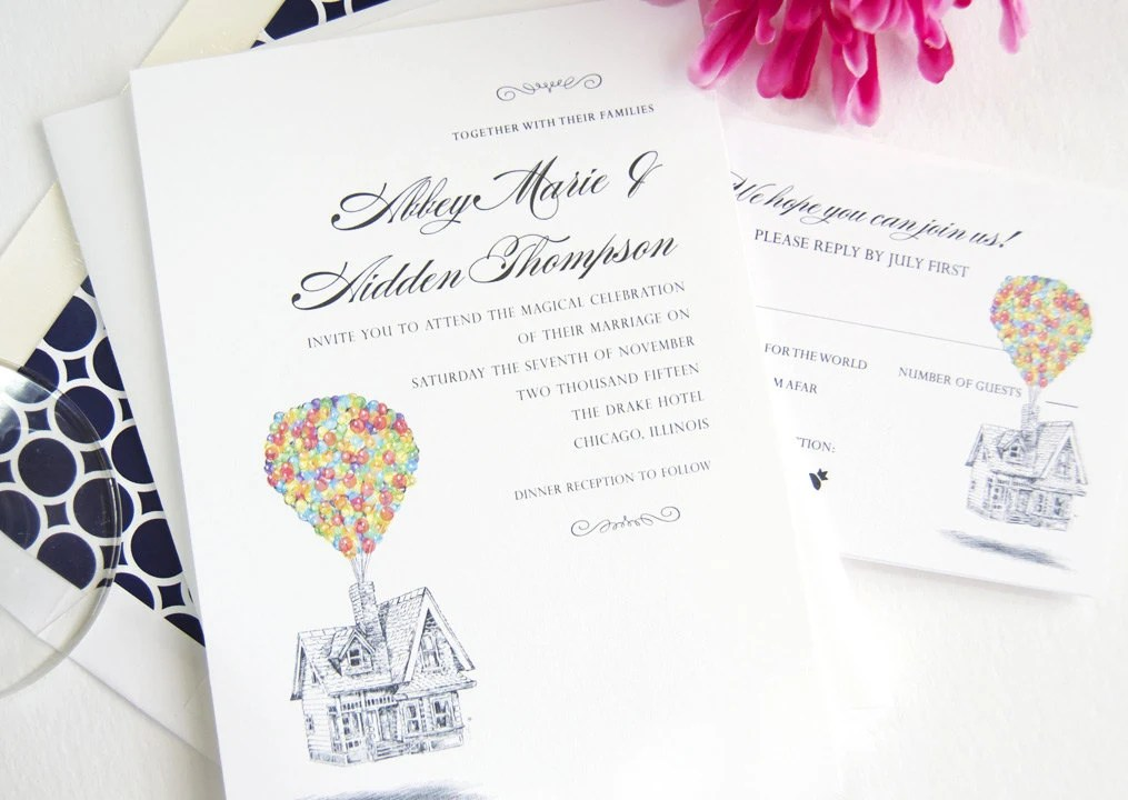 Disney Wedding Invitations DisneyFairyTalescom