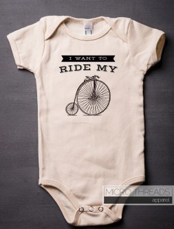 Bicycle Race onesie