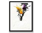 Abstract ink tree Paintin...