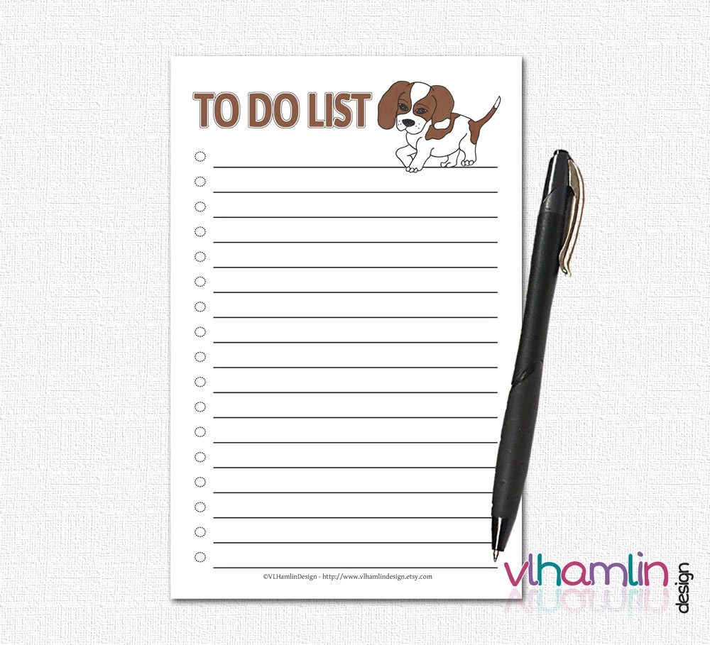 To Do List Notepads - To ...