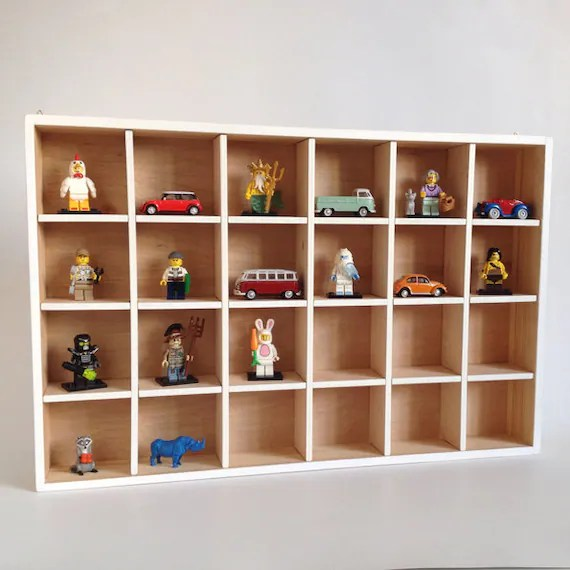 Lego Minifigure Display Shelf - Holds 24