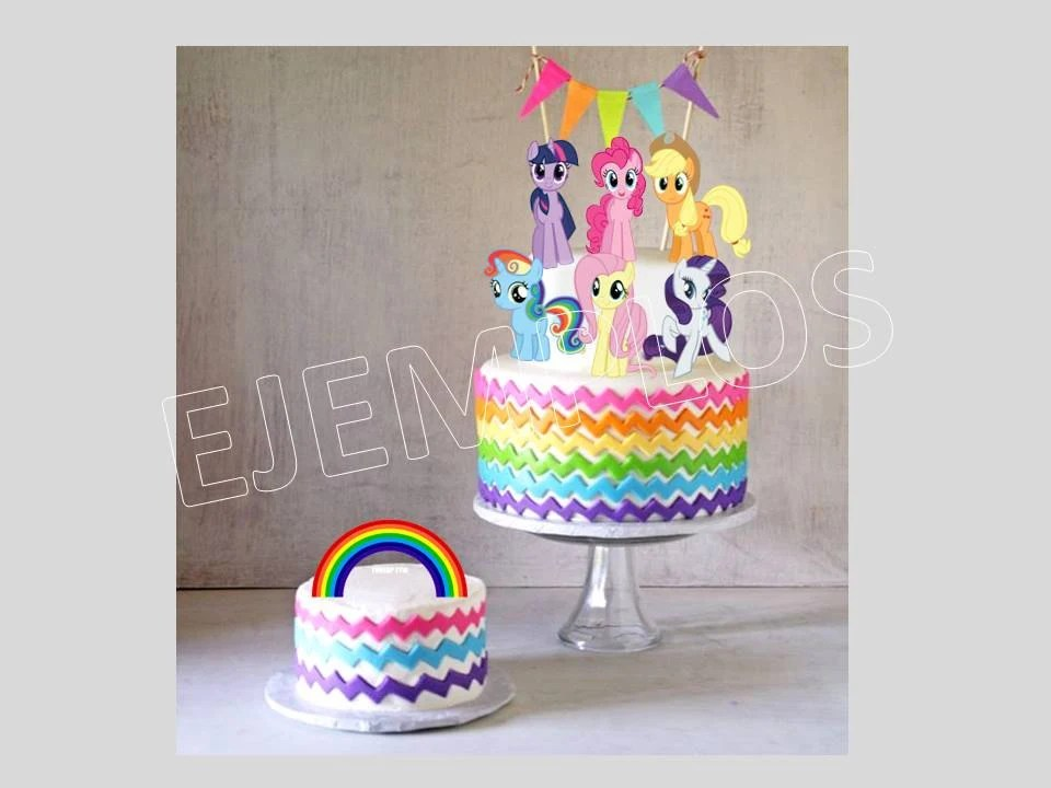 My Little Pony My Little Pony Cake Topper My Little Pony