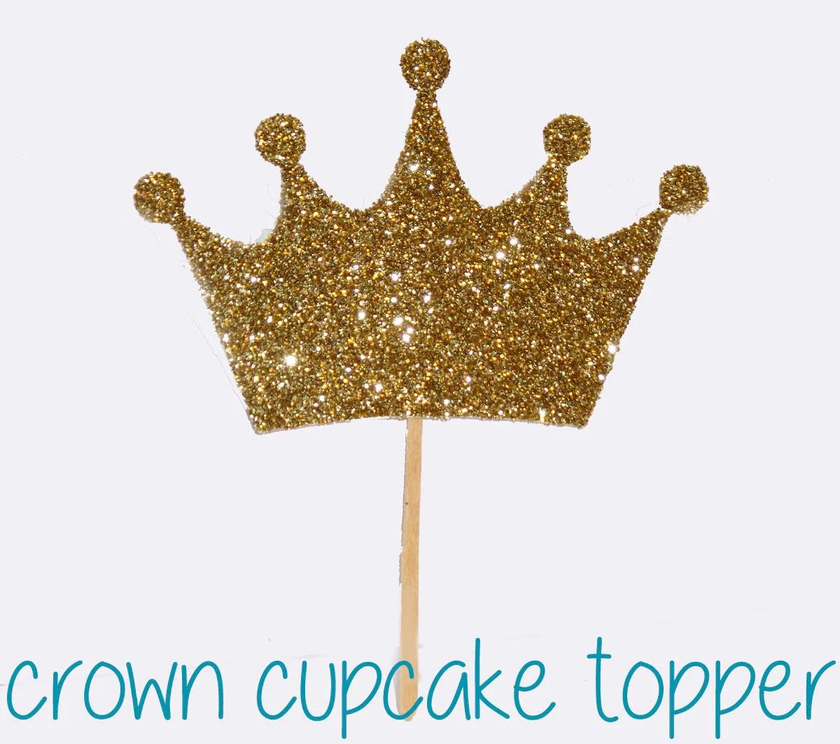 Gold Cupcake Decorations