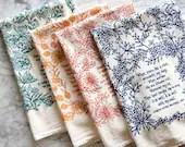 4 Hymn Tea Towels christi...
