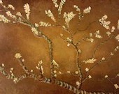 Gold Almond Blossom Paint...
