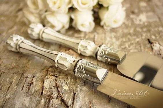 Fall Wedding Knife Set
