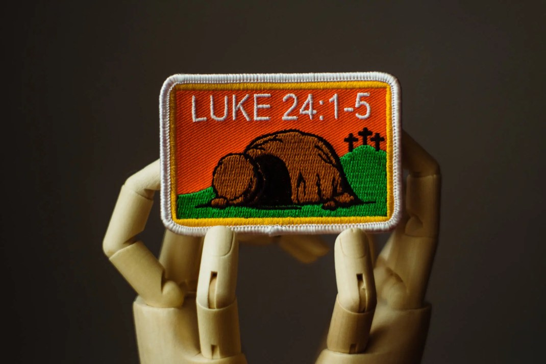 He is Risen Patch   Sew o...