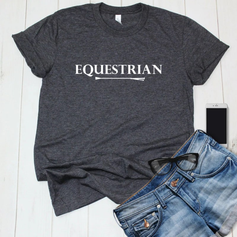 Equestrian Shirt with Hor...