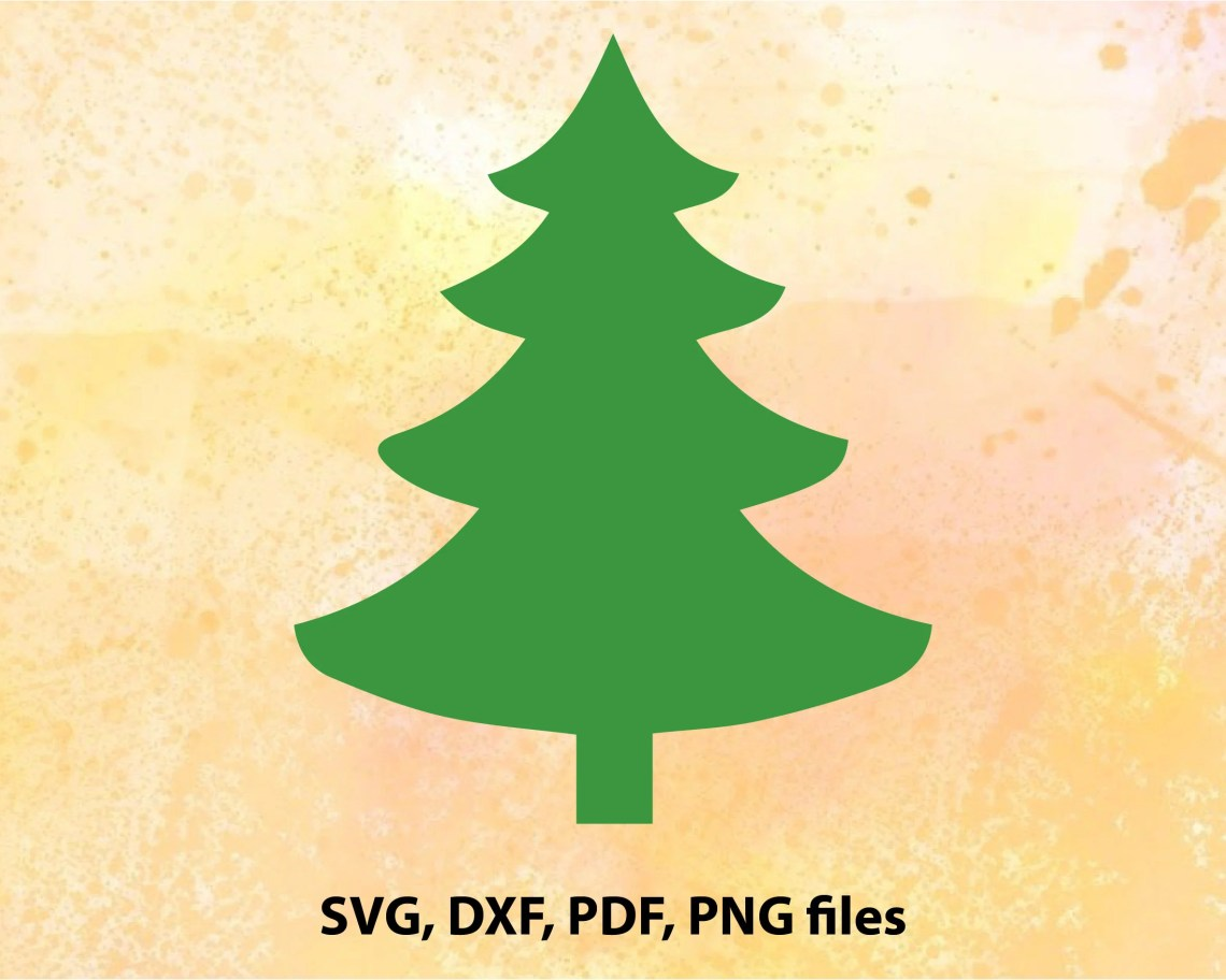 Download Christmas Tree SVG File Christmas Tree Cut File Png