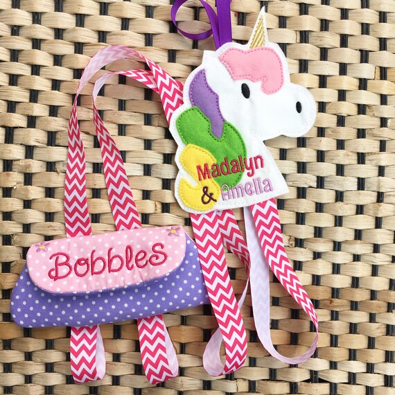 Personalised Holder For Hairbows, Bobbles & Bands