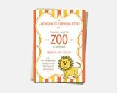 Zoo Invitations - Birthda...
