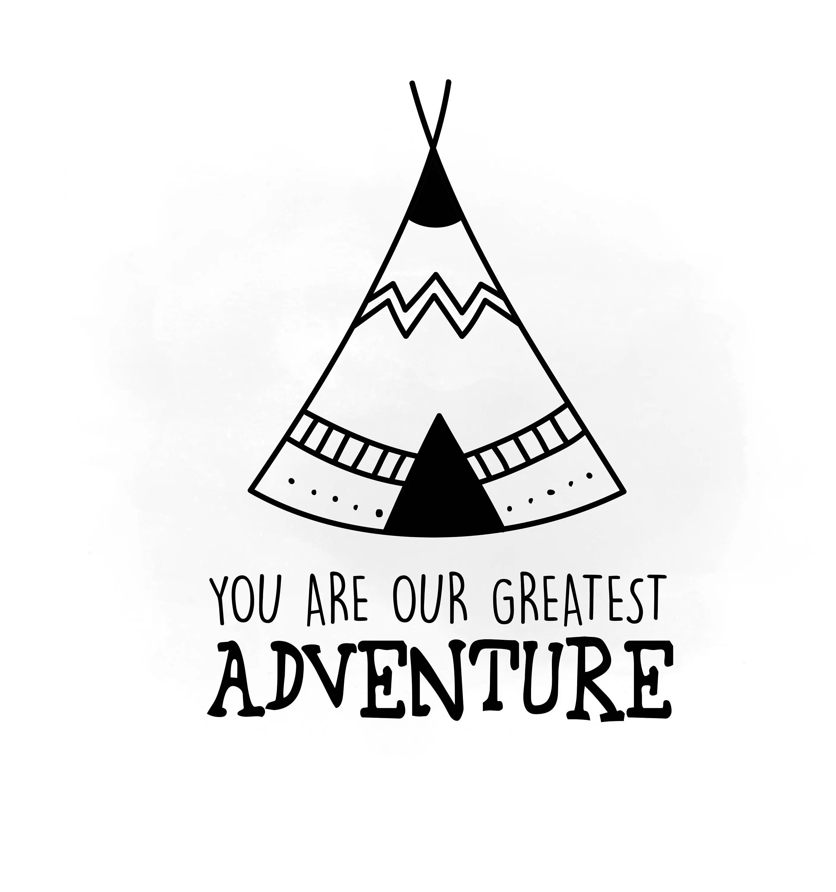 You Are Our Greatest Adventure Svg Clipart Newborn Indian
