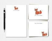 Red Fox Stationery Set - ...