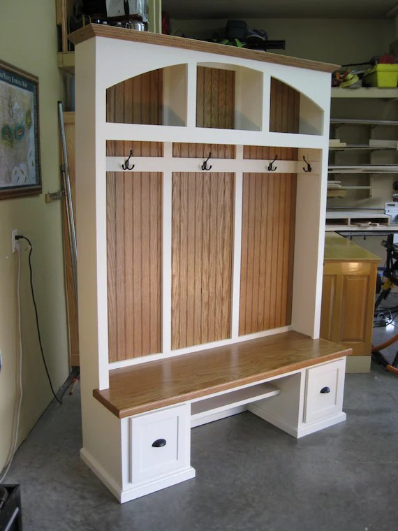 Entryway Furniture Mudroom Cabinets Hall Tree With Bench