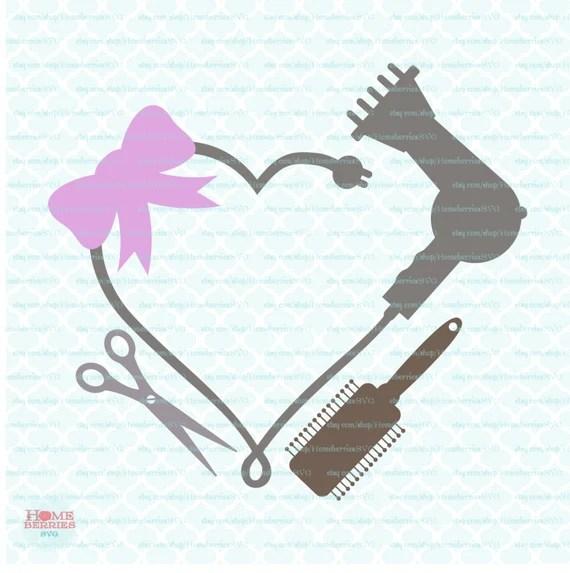 Download Blowdryer svg Blowdryer Monogram Frame svg Hairdresser svg