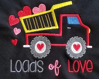 Download Construction Crane Embroidery Design Boys Valentine