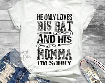 Download He only loves mama | Etsy