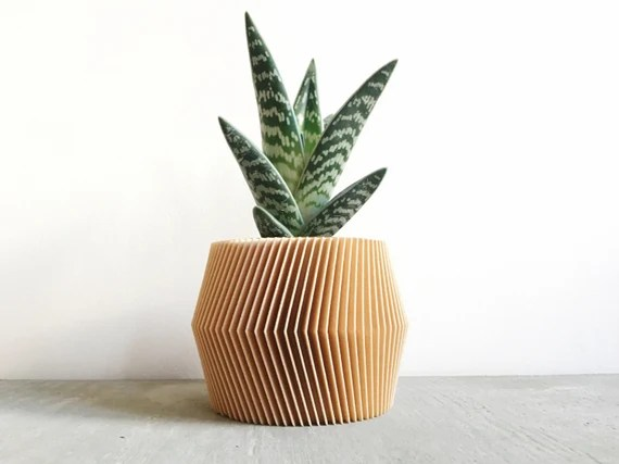 French Geometric Planter Pot