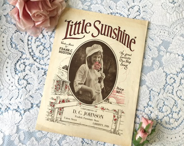 Vintage 1919 Little Sunsh...
